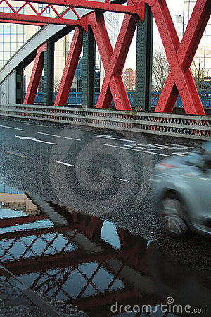 Free Car On The Bridge Royalty Free Stock Images - 12396689