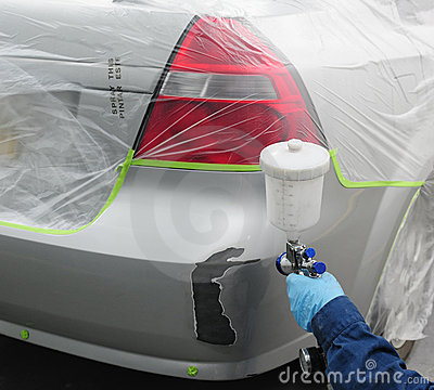 Free Car Paint. Royalty Free Stock Photos - 18174518