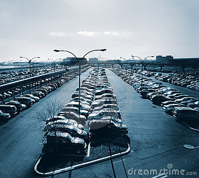 Free Car Park At Airport Royalty Free Stock Photo - 1931635