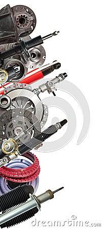 Car parts.