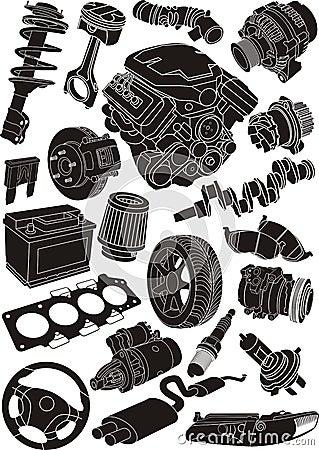 Free Car Parts Stock Photos - 22263383