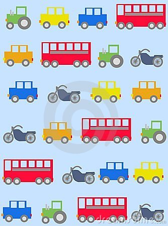 Free Car Pattern Seamless Stock Image - 14935891
