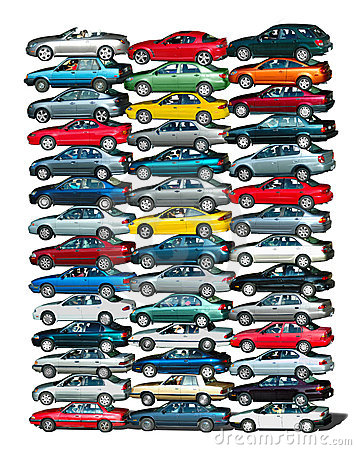 Free Car Pile Royalty Free Stock Images - 3106929