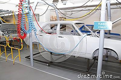 Car production factory plant