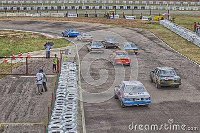 Car racing Editorial Photography