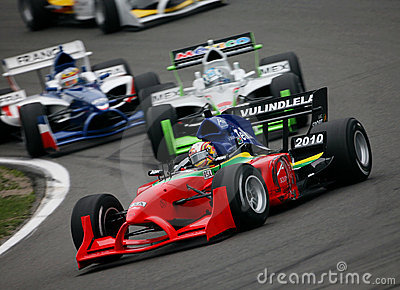 Car Racing(A1 GP) Editorial Photo
