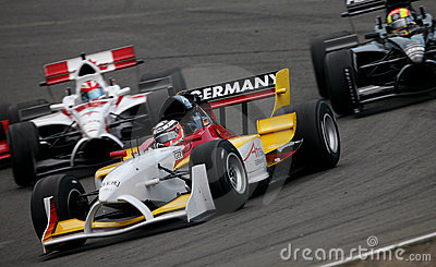 Car Racing(A1 GP) Editorial Stock Photo
