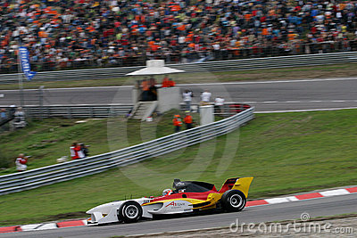 Car Racing(A1 GP) Editorial Stock Image