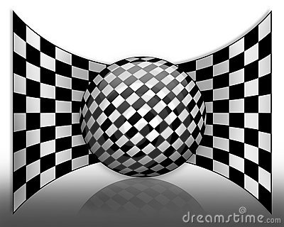 Car Racing Background abstract