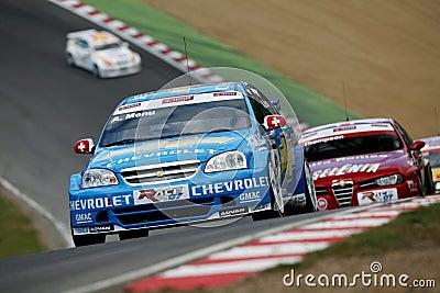 Car Racing(Chevrolet Lacetti,FIA WTCC) Editorial Photography
