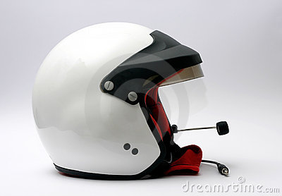 Car racing helmet
