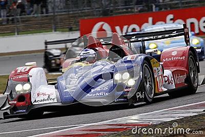 Car Racing(Oreca 01-AIM,Le Mans series) Editorial Image
