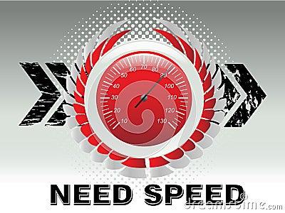 Car racing speed