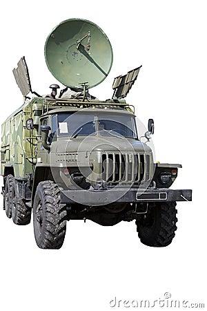 Car with radar
