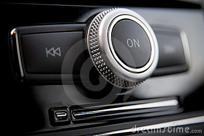 Car radio control buttons