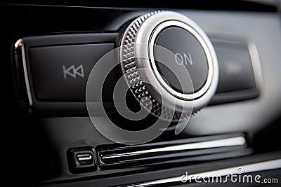 Car radio control buttons