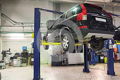 A car repair garage stock image image 37537841 for Garage villeneuve auto service