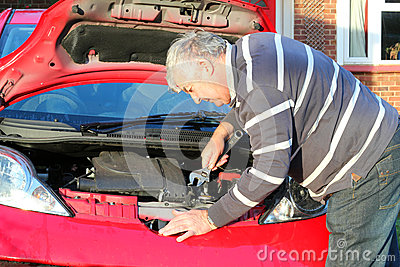 Car repairs.