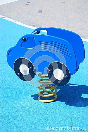 Car ride on playground