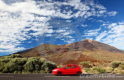 Car Road Trip To Freedom Stock Image - Image: 17110221