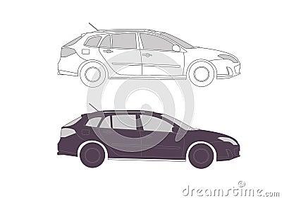 Car in s for presentation