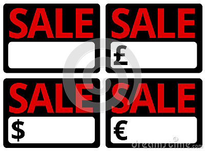 Car Sale Signs