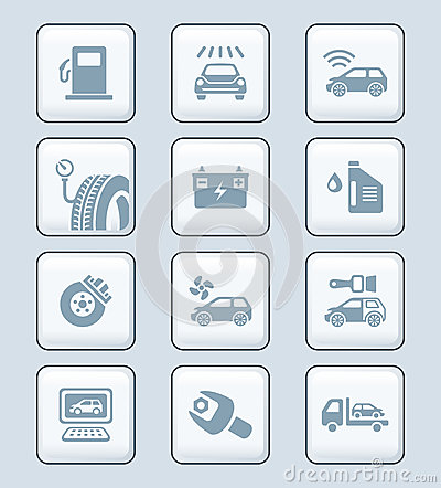 Free Car Service Icons | TECH Series Stock Images - 27514114