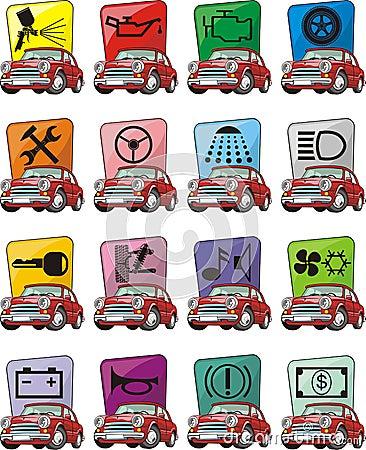 Car service signs
