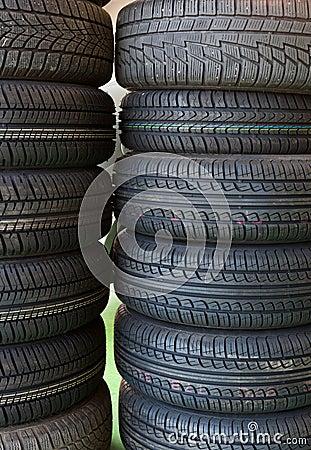 Car service tire service