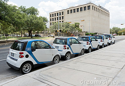 Car share program Editorial Stock Image