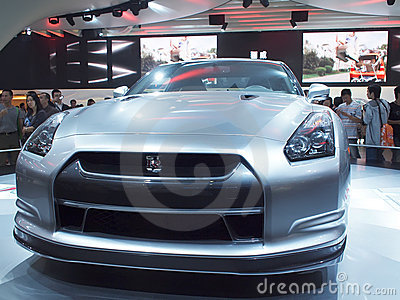 Car show Editorial Image
