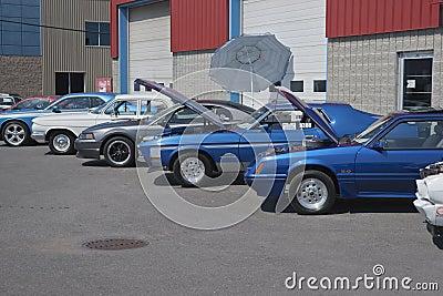 Car show Editorial Stock Image