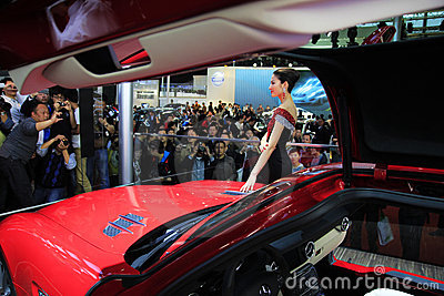 Car show shanghai Editorial Stock Photo