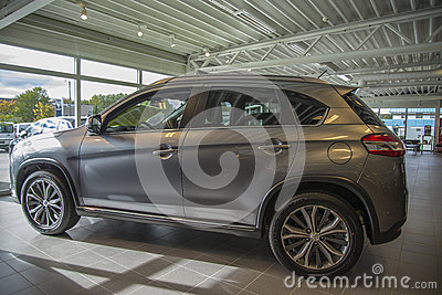 Car sold, peugeot 4008 Editorial Photography