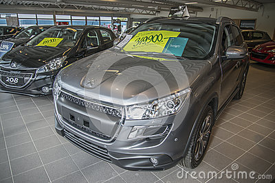 Car sold, peugeot 4008 Editorial Image