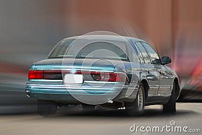 Car with speeding