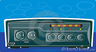 Car stereo with radio