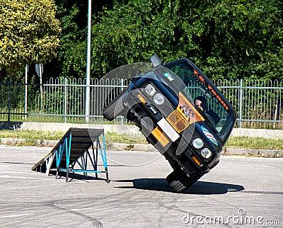 Car stunts Editorial Image