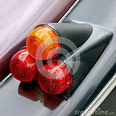 Free Car Tail Lights Royalty Free Stock Image - 29522386