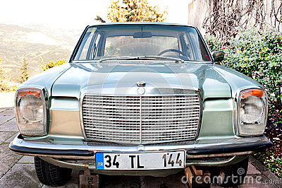 The car of the third president of Turkey Editorial Stock Photo