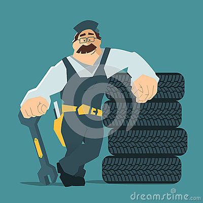 Free Car Tire Tyre Service Stock Image - 64753501