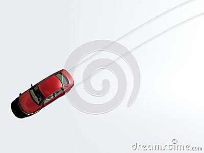 Car tracks