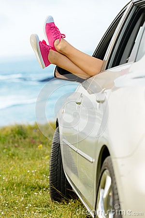 Car travel freedom and relax