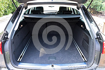 Car trunk inside