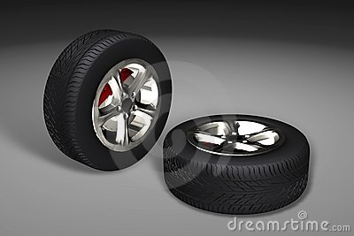 Car tyres (wheels)