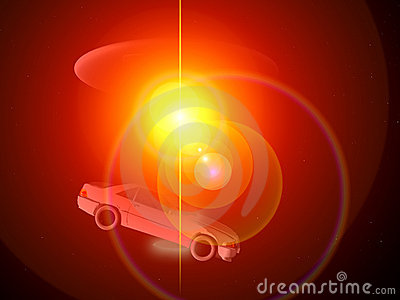 Car And UFO 68