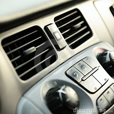 Car Vents and Knobs