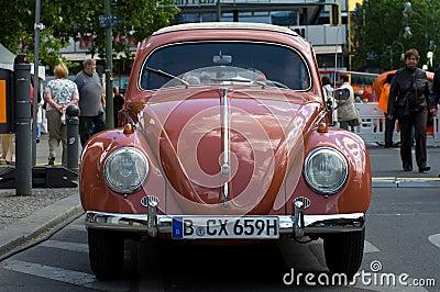 Car Volkswagen Beetle Editorial Stock Image