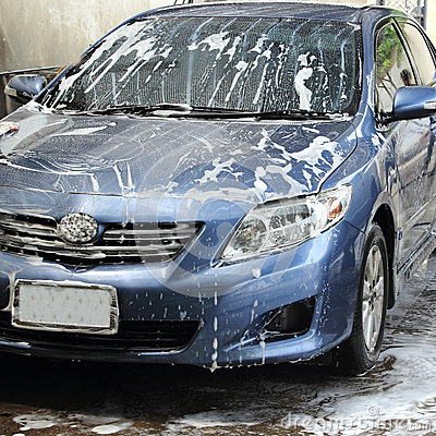 Free Car Wash Stock Photography - 34969582