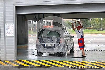 Car wash Editorial Image
